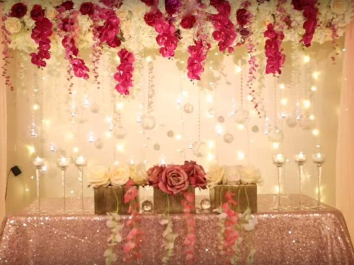 گل آرایی در عروسی کلاسیک یا سنتی