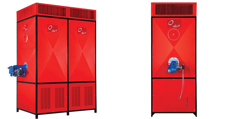 کوره هوای گرم گازی انرژی مدل GF 3060