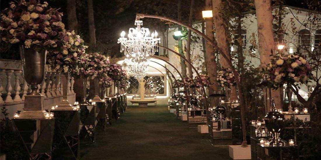 گل آرایی در عروسی به سبک صنعتی
