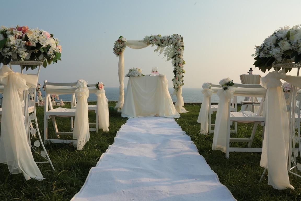 گل آرایی و عروسی ساحلی