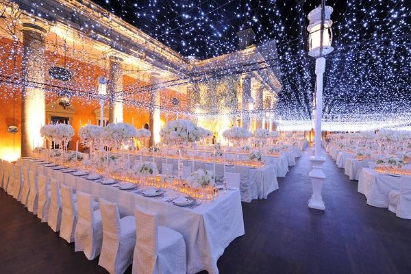 اهمیت نورپردازی در تشریفات عروسی